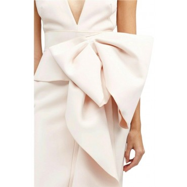 Acler Pale Pink Night Out Dress Business Casual Womens B3SHN6054