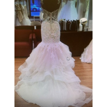 Mori Lee Ivory 8118 Sexy Wedding Dress Business Casual for Women 8FD072131